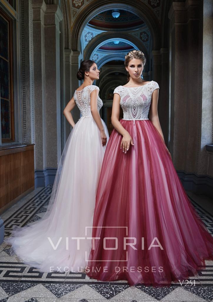 Вечернее платье V251
