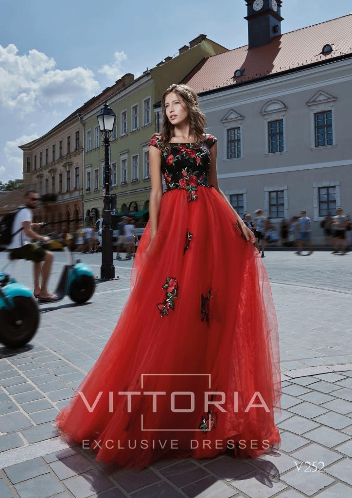 Вечернее платье V252