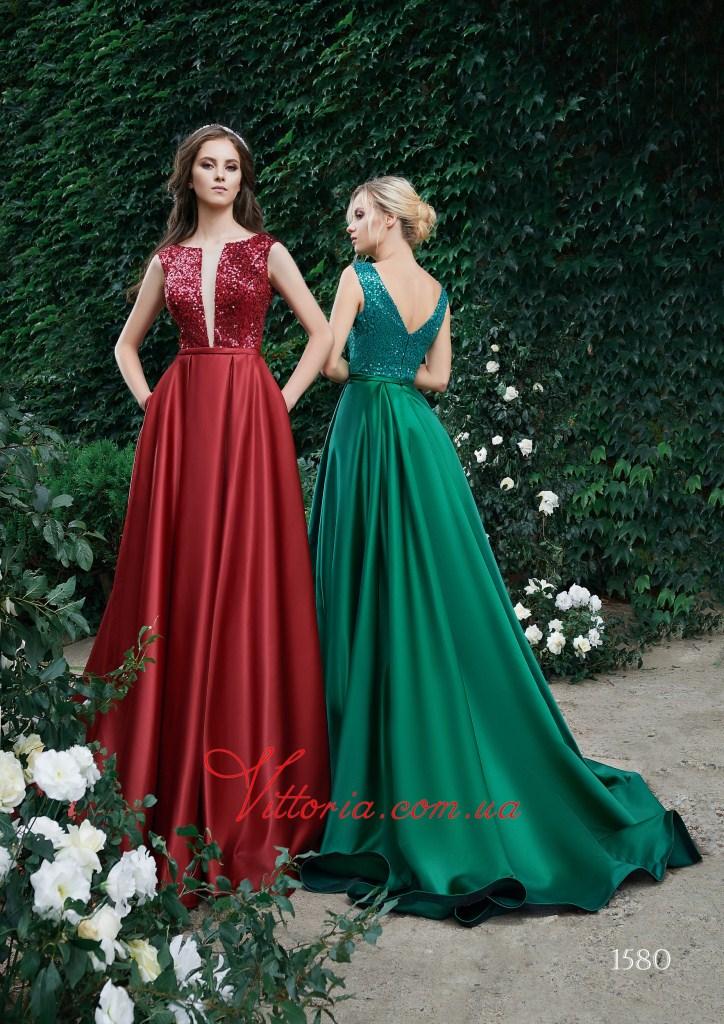 Вечернее платье 1580