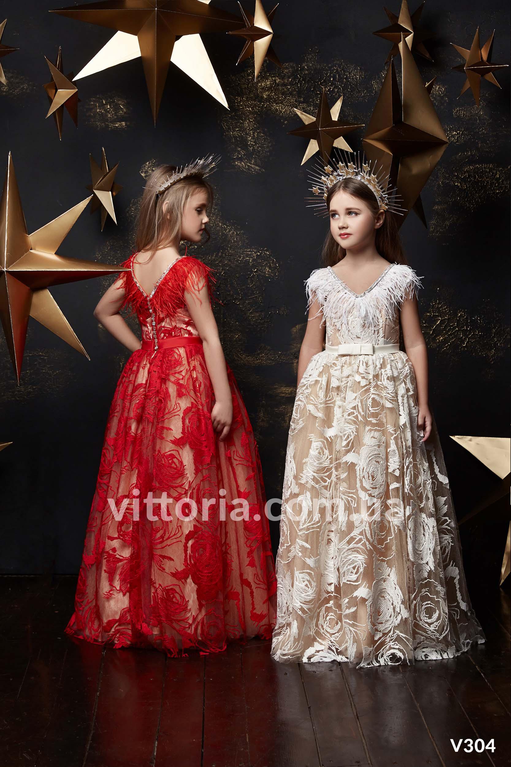 Детское платье 304