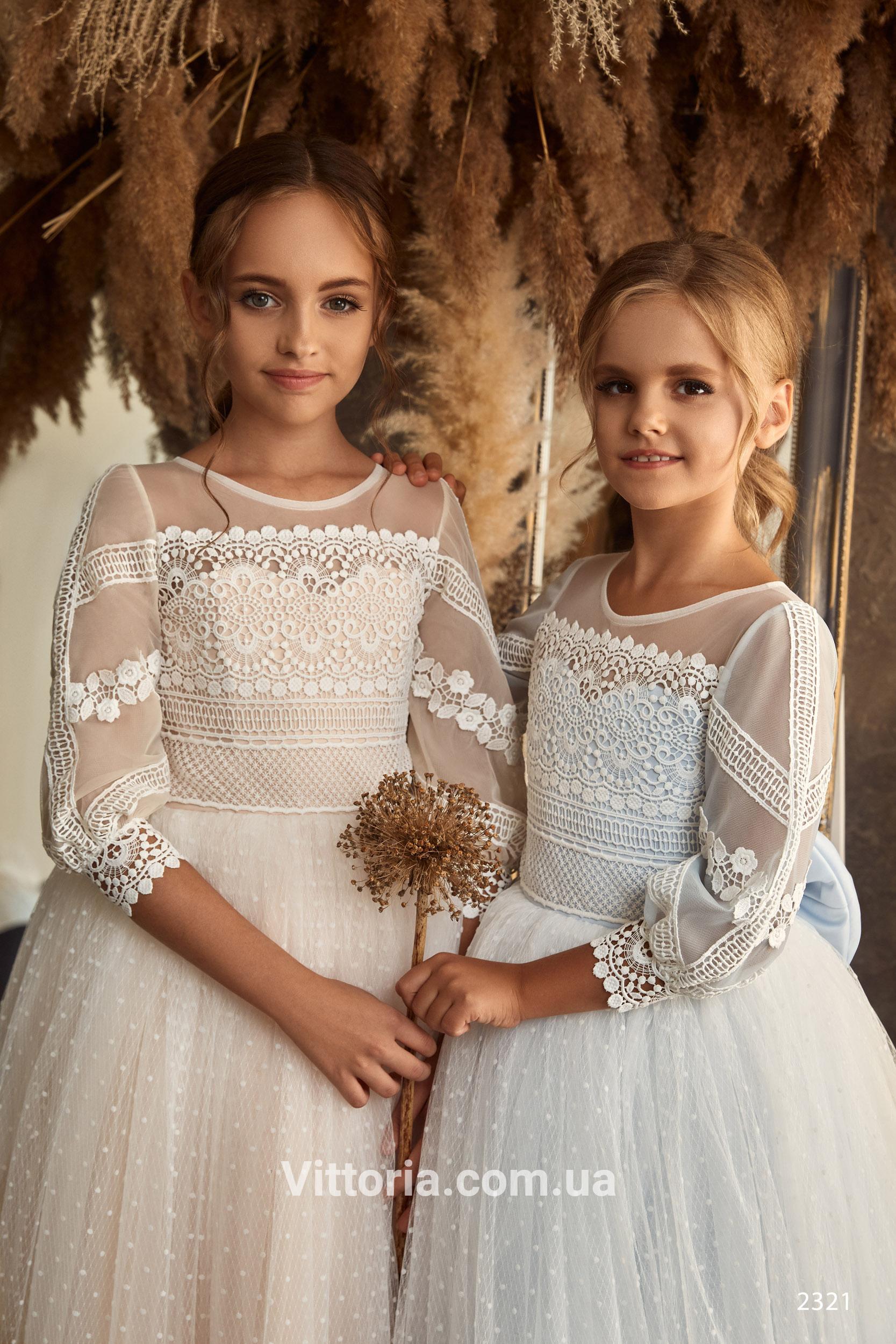 Детское платье 2321
